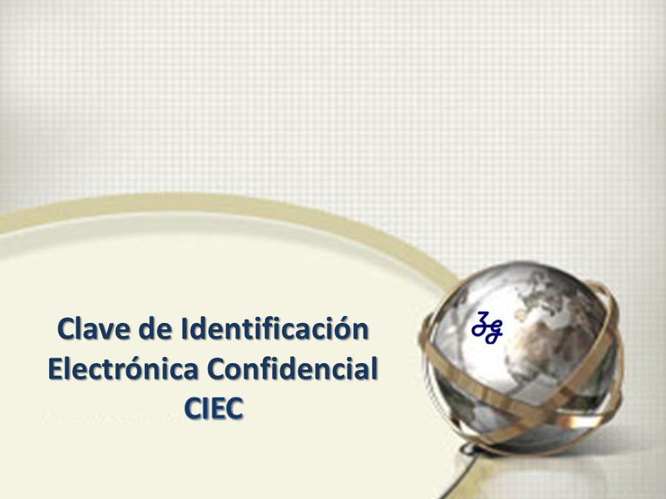 Clave de Identificación Electrónica Confidencial
