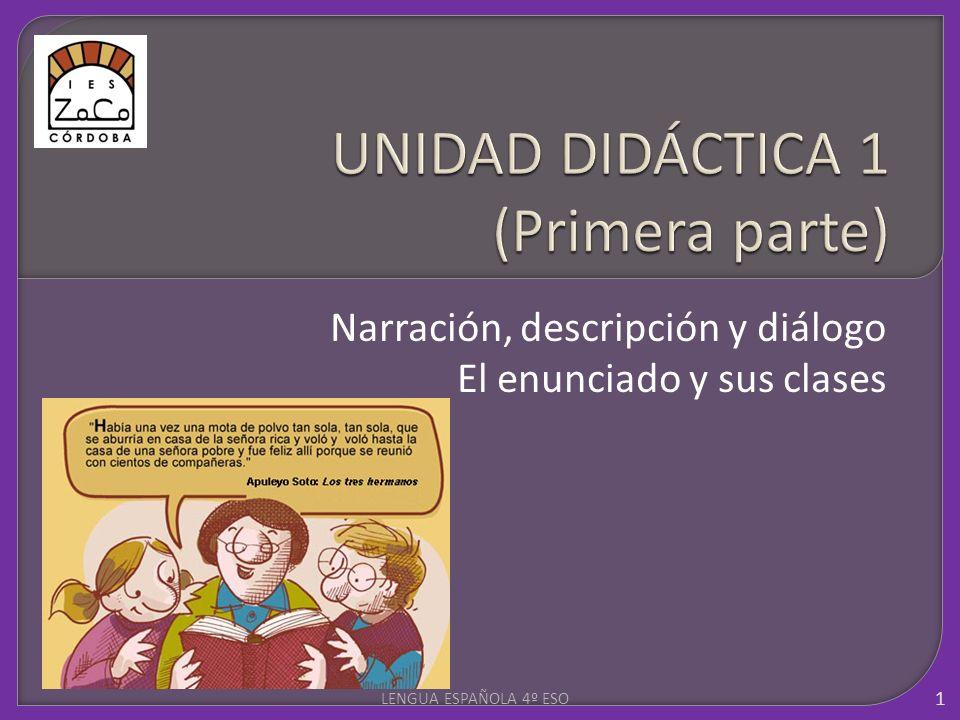 UNIDAD DIDÁCTICA 1 (Primera parte)