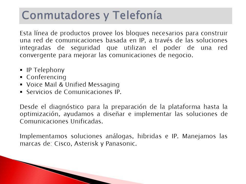 Conmutadores y Telefonía