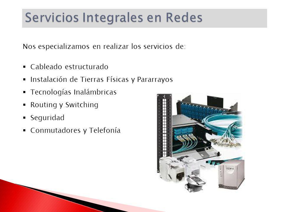 Servicios Integrales en Redes