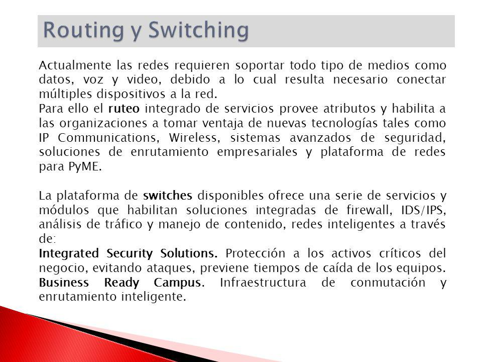 Routing y Switching