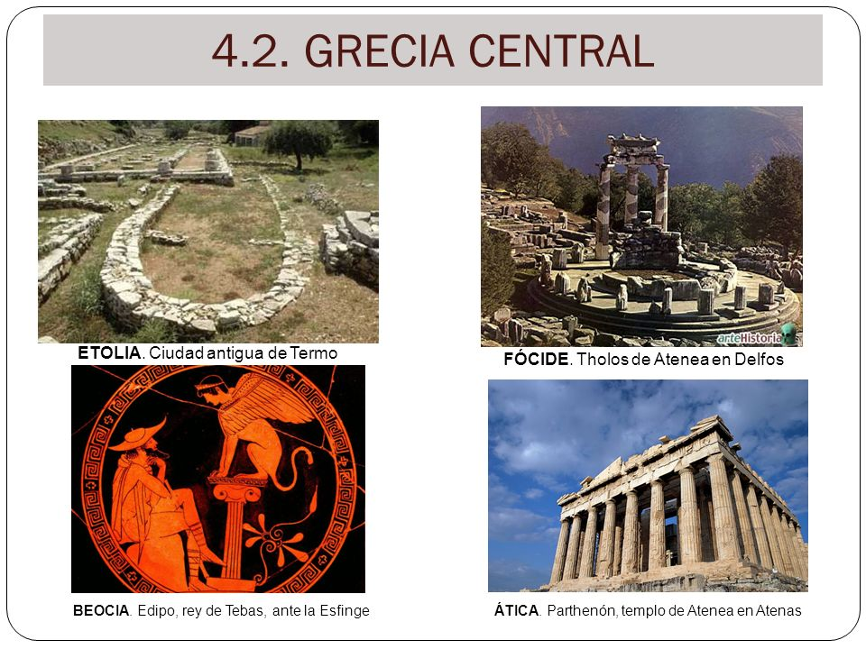 4.2. GRECIA CENTRAL ETOLIA. Ciudad antigua de Termo