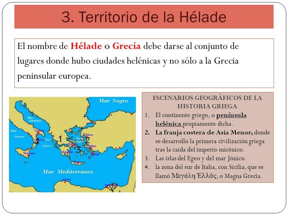 3. Territorio de la Hélade