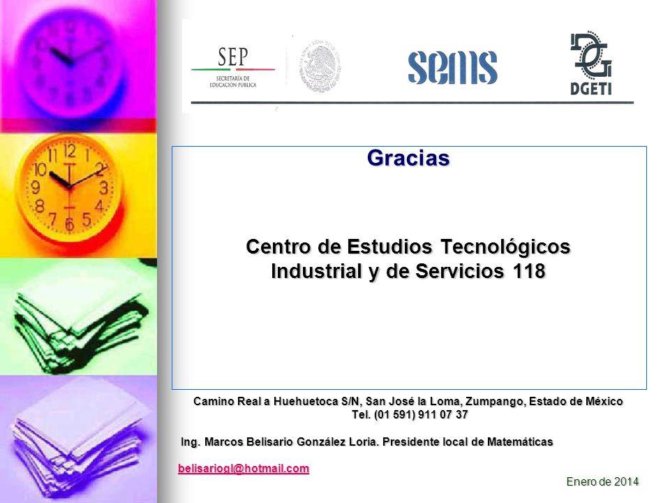 Centro de Estudios Tecnológicos Industrial y de Servicios 118