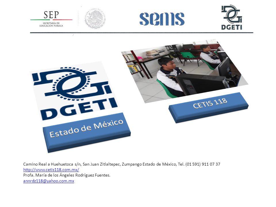 Estado de México CETIS 118.