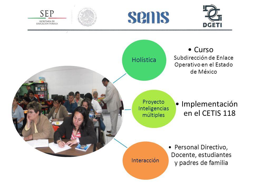 Curso Subdirección de Enlace Operativo en el Estado de México
