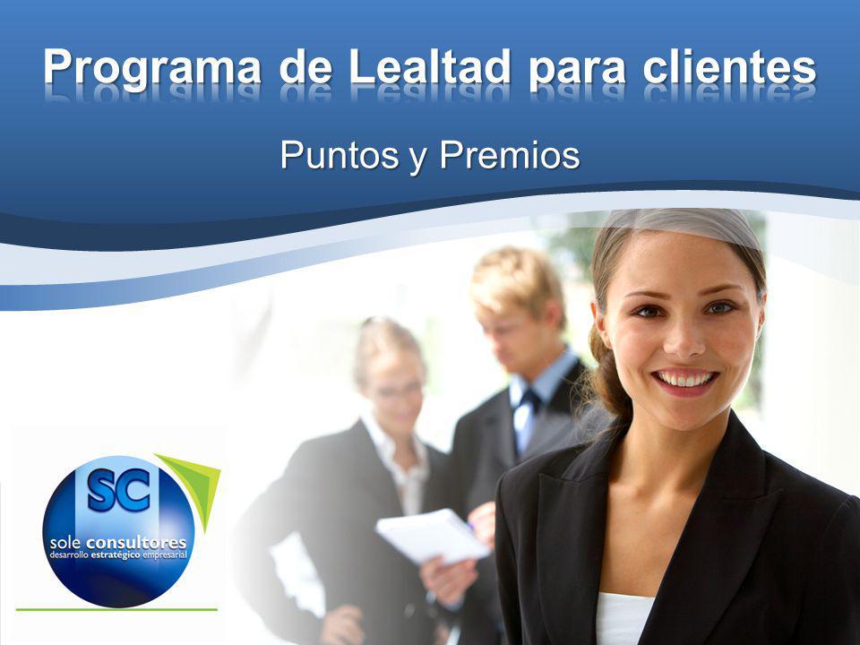 Programa de Lealtad para clientes