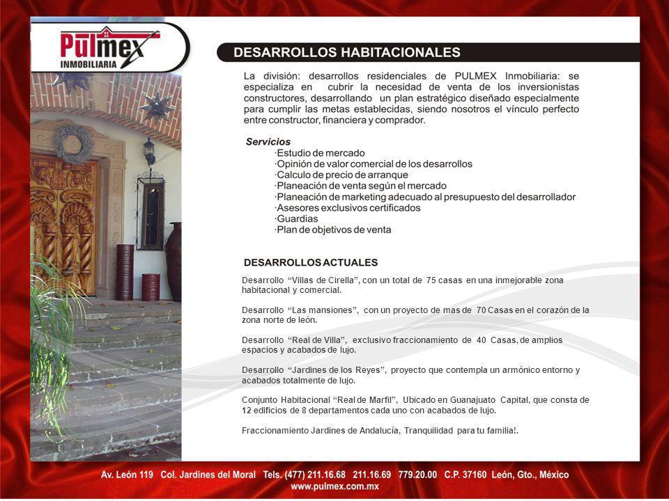 Desarrollo Villas de Cirella , con un total de 75 casas en una inmejorable zona habitacional y comercial.