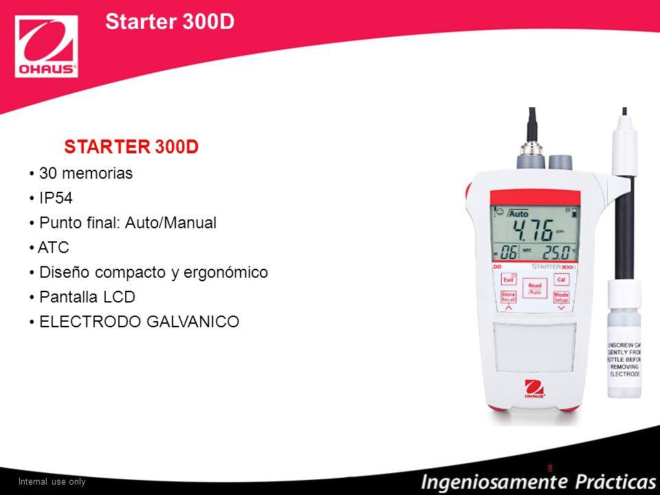 Starter 300D STARTER 300D 30 memorias IP54 Punto final: Auto/Manual