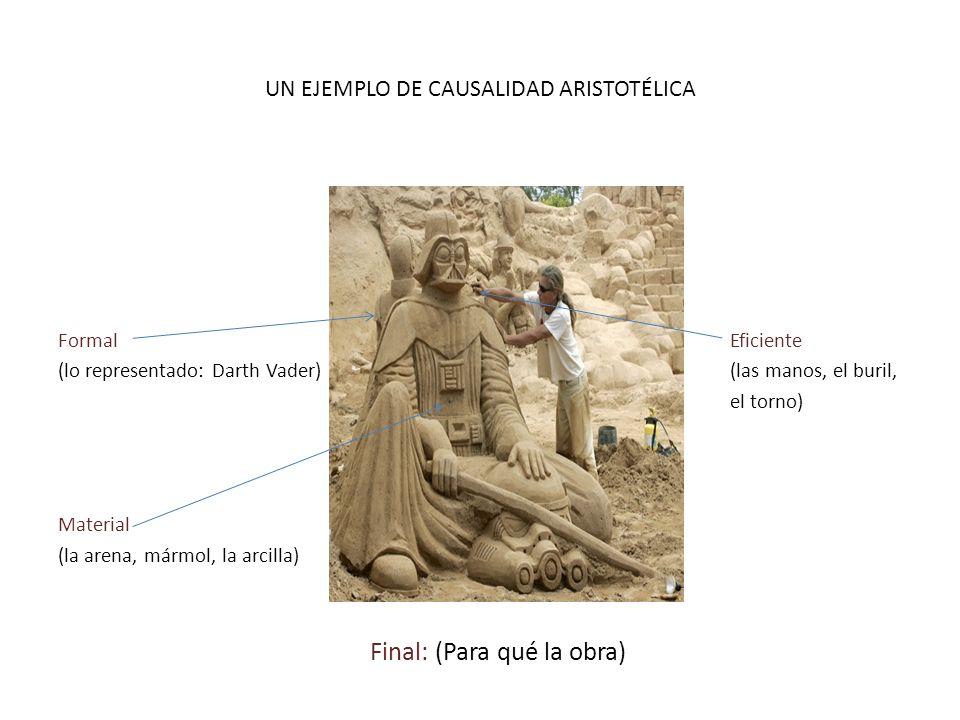 UN EJEMPLO DE CAUSALIDAD ARISTOTÉLICA