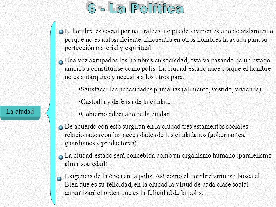 6 - La Política