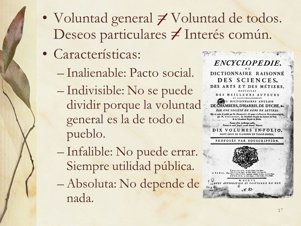 Voluntad general = Voluntad de todos