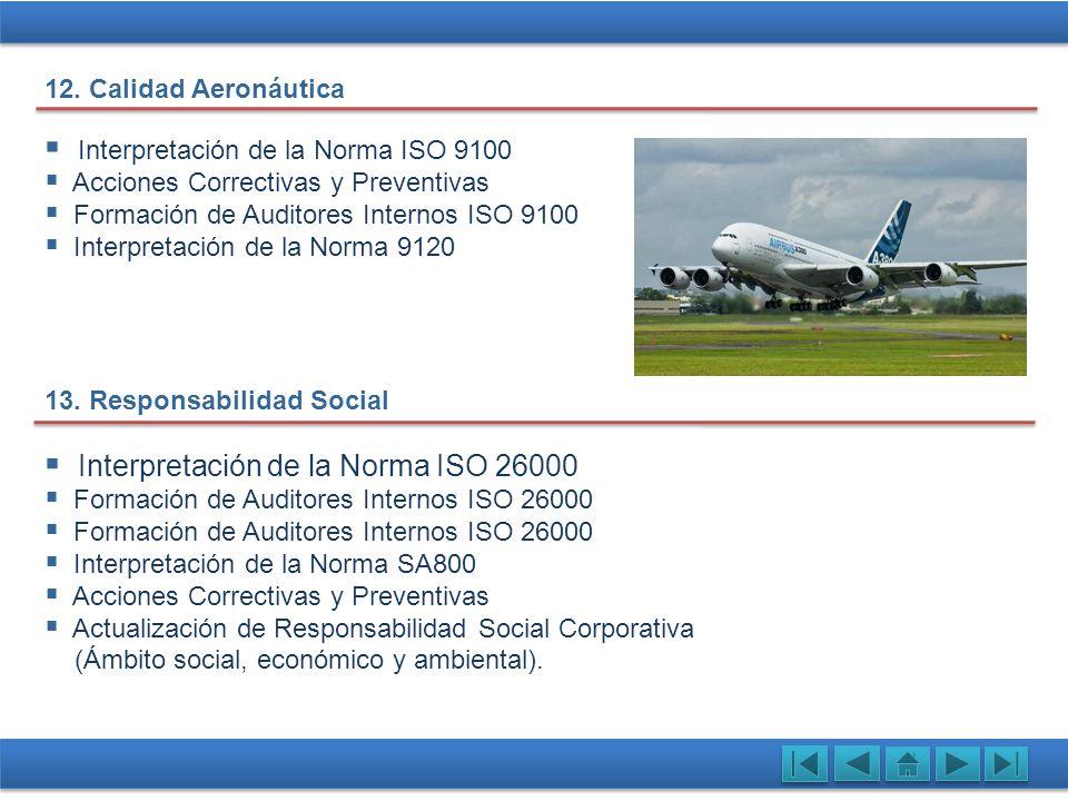Interpretación de la Norma ISO 9100