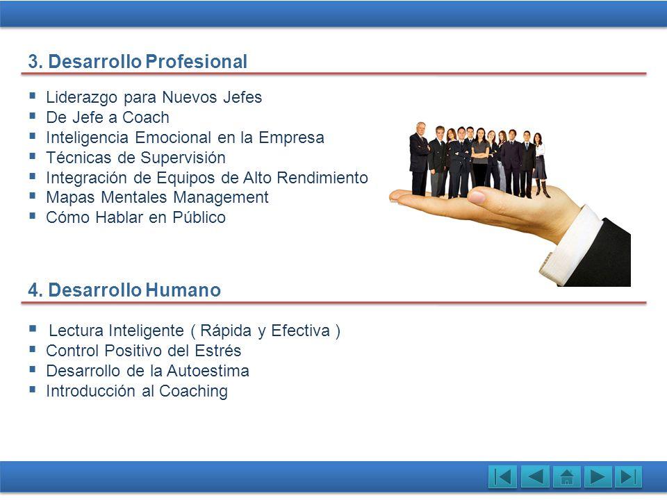 3. Desarrollo Profesional
