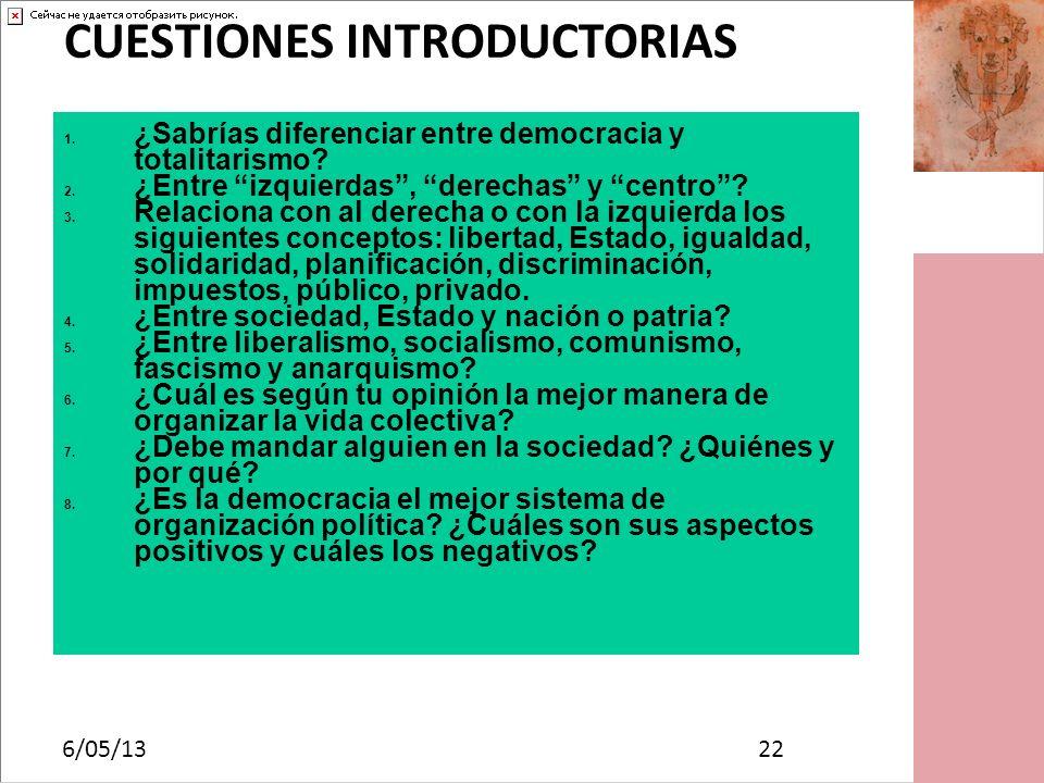 CUESTIONES INTRODUCTORIAS