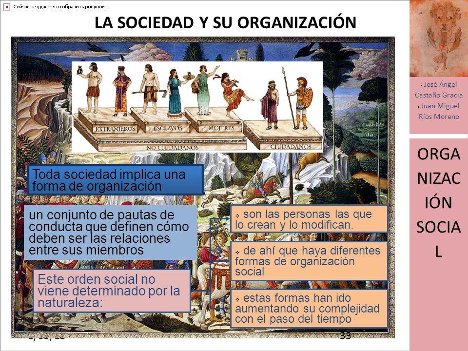 LA SOCIEDAD Y SU ORGANIZACIÓN