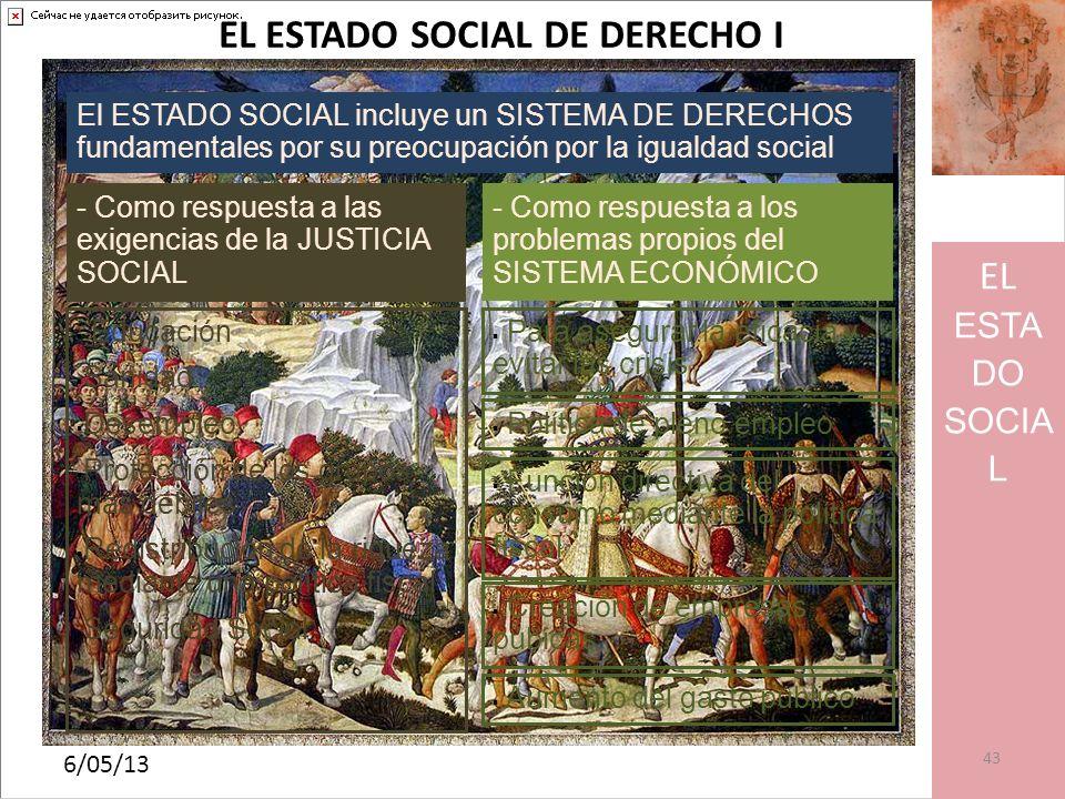 EL ESTADO SOCIAL DE DERECHO I