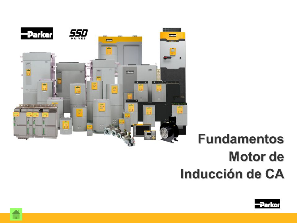 Fundamentos Motor de Inducción de CA