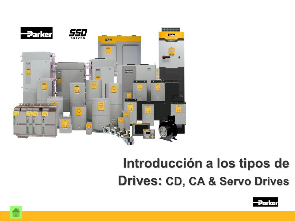 Introducción a los tipos de Drives: CD, CA & Servo Drives