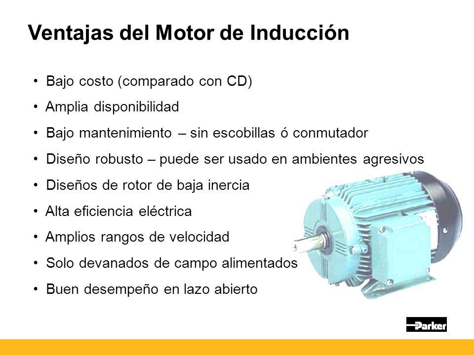 Ventajas del Motor de Inducción