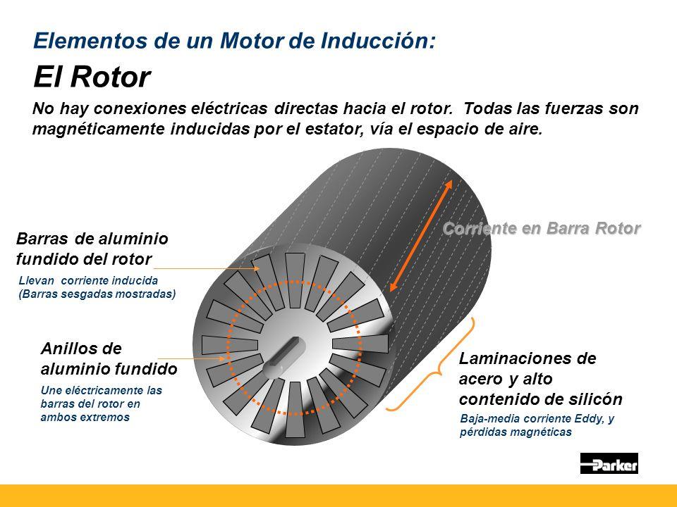 El Rotor Elementos de un Motor de Inducción: