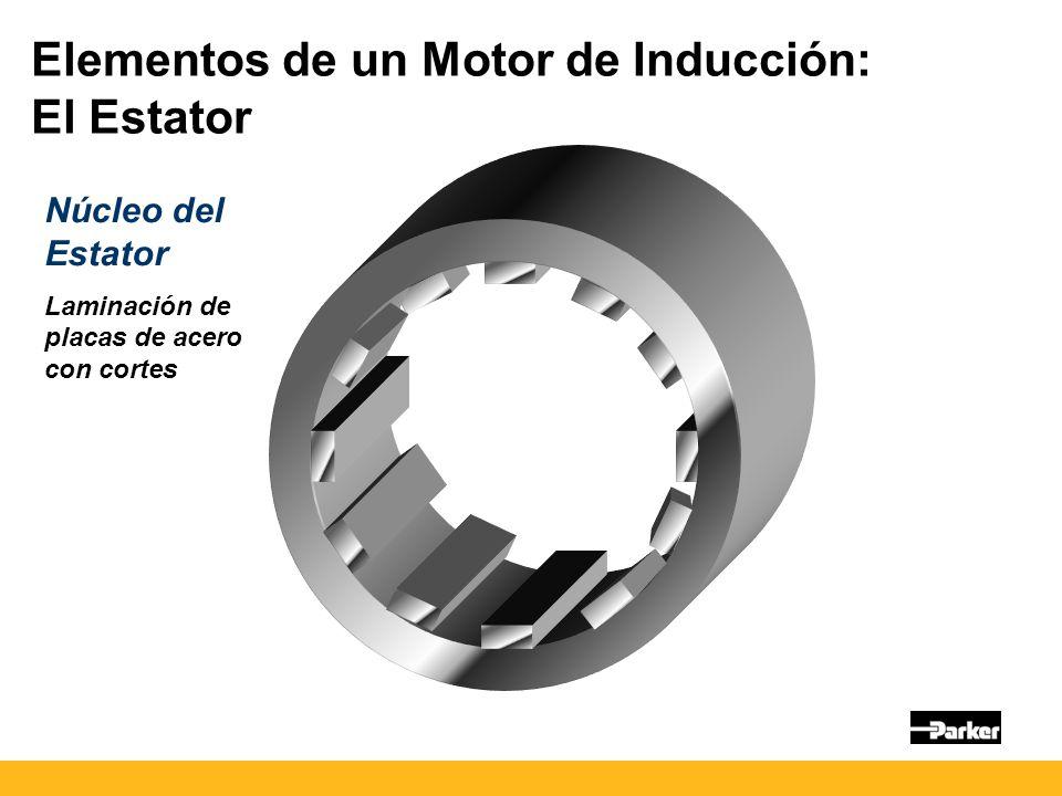 Elementos de un Motor de Inducción: El Estator