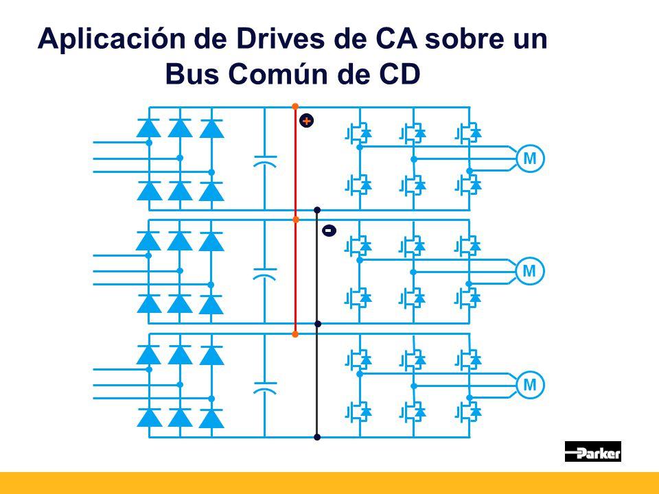 Aplicación de Drives de CA sobre un Bus Común de CD