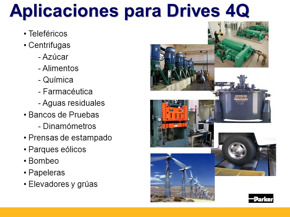 Aplicaciones para Drives 4Q