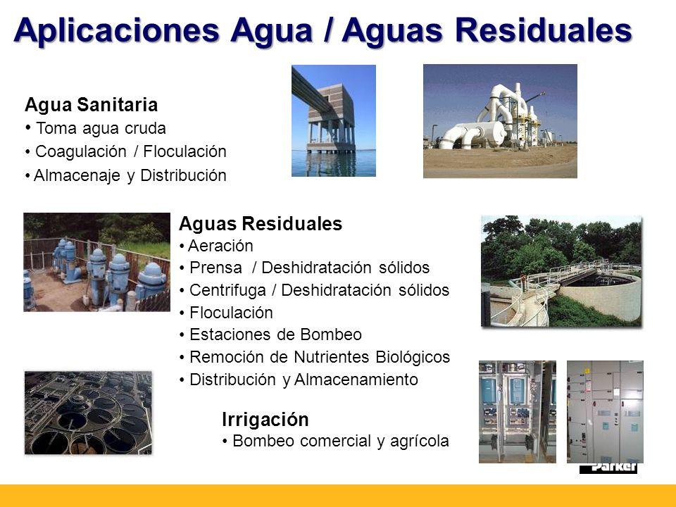 Aplicaciones Agua / Aguas Residuales