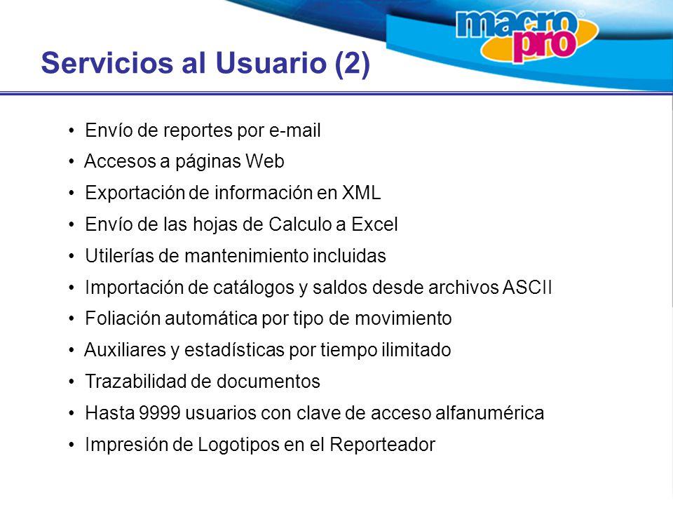 Servicios al Usuario (2)
