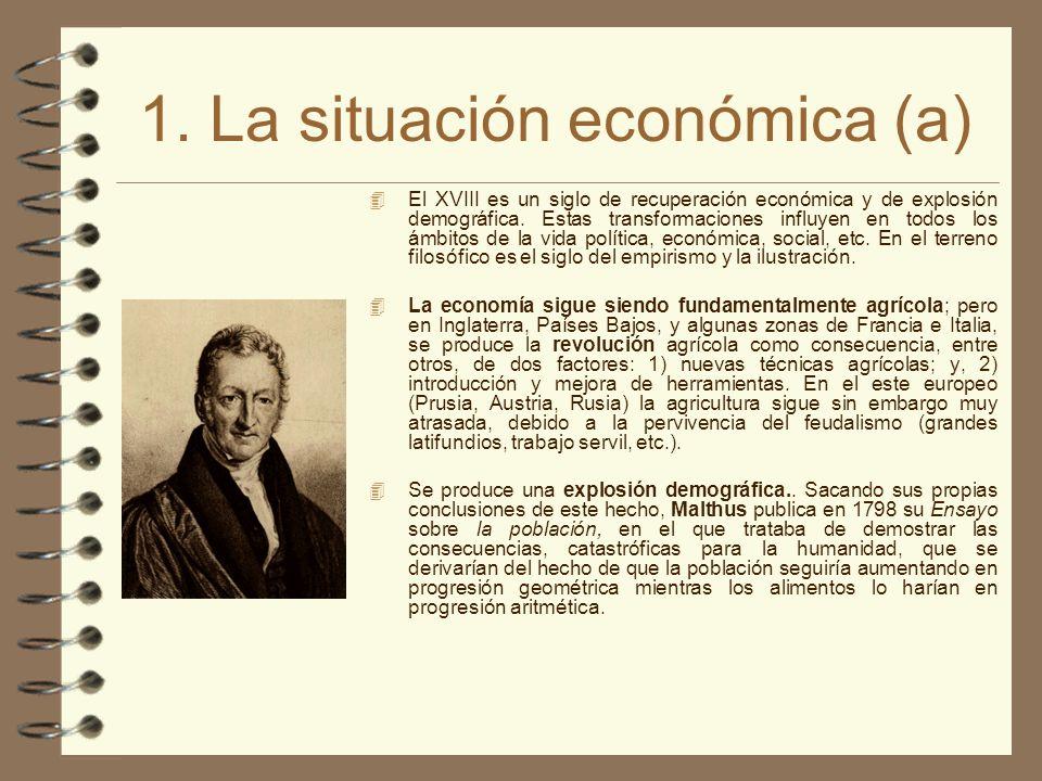 1. La situación económica (a)