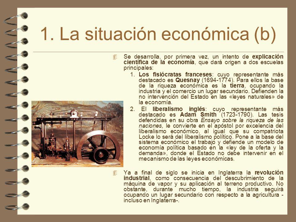 1. La situación económica (b)