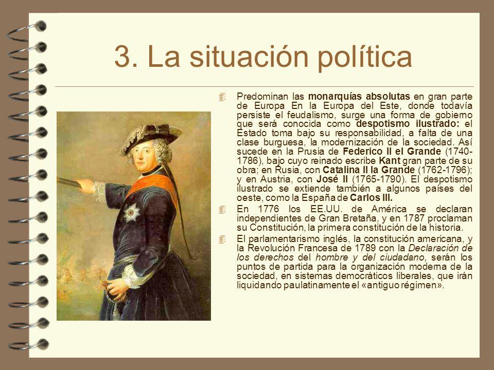 3. La situación política