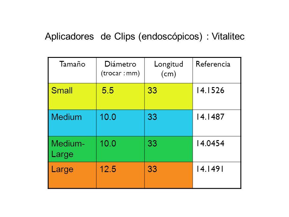 Aplicadores de Clips (endoscópicos) : Vitalitec