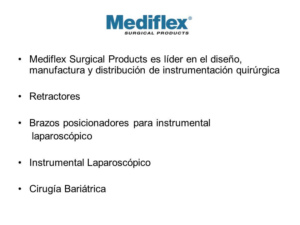 Mediflex Surgical Products es líder en el diseño, manufactura y distribución de instrumentación quirúrgica