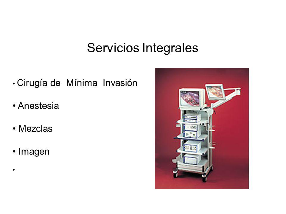 Servicios Integrales Anestesia Mezclas Imagen
