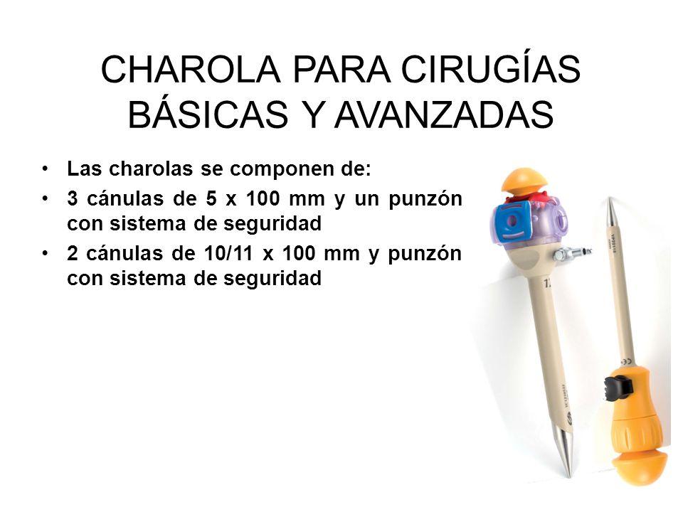CHAROLA PARA CIRUGÍAS BÁSICAS Y AVANZADAS