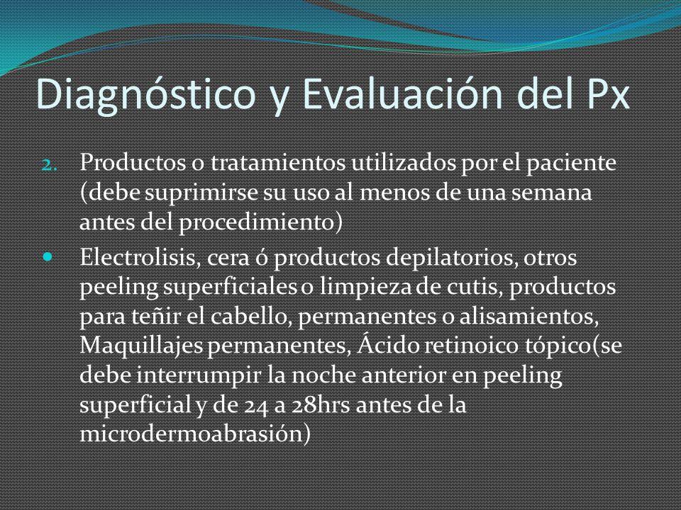 Diagnóstico y Evaluación del Px