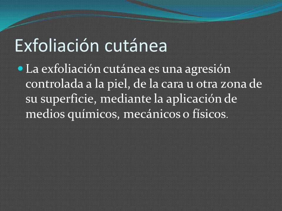 Exfoliación cutánea