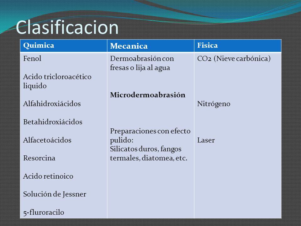 Clasificacion Mecanica Quimica Fisica Fenol