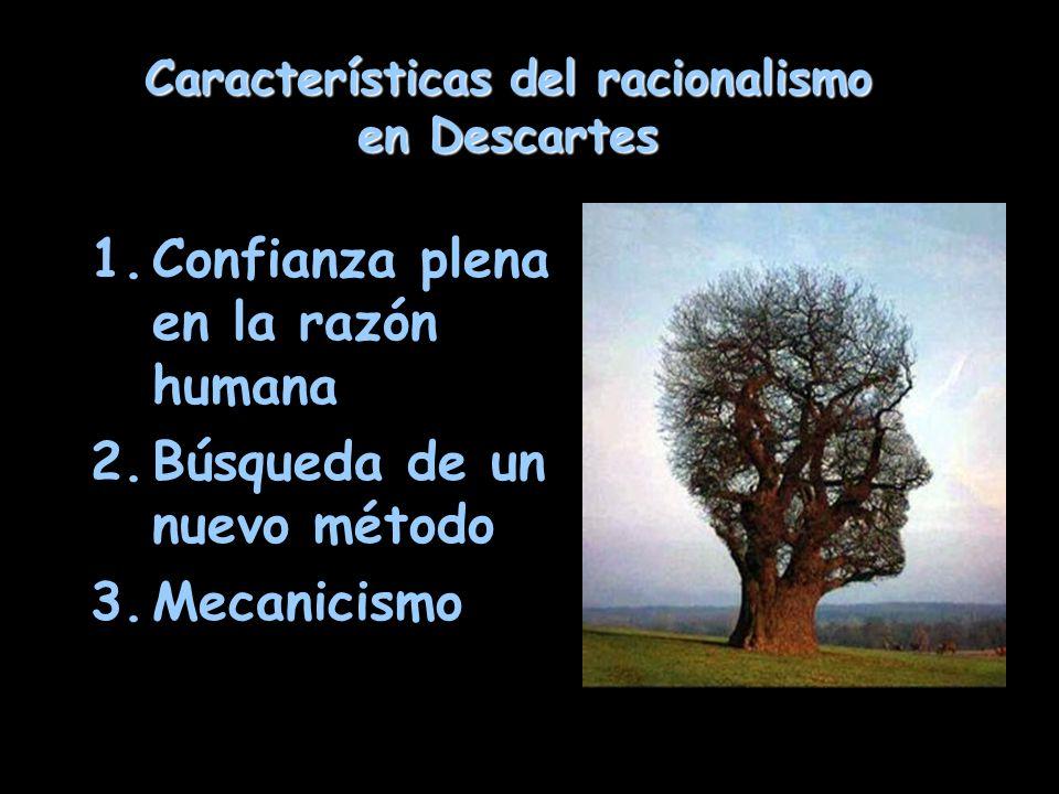 Características del racionalismo en Descartes