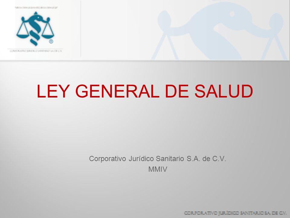 Corporativo Jurídico Sanitario S.A. de C.V. MMIV