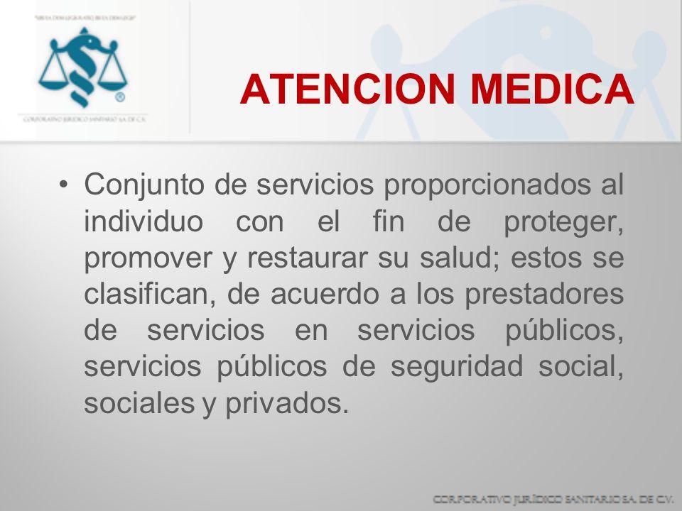 ATENCION MEDICA