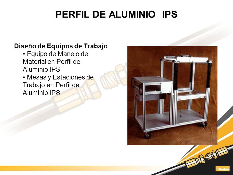 PERFIL DE ALUMINIO IPS