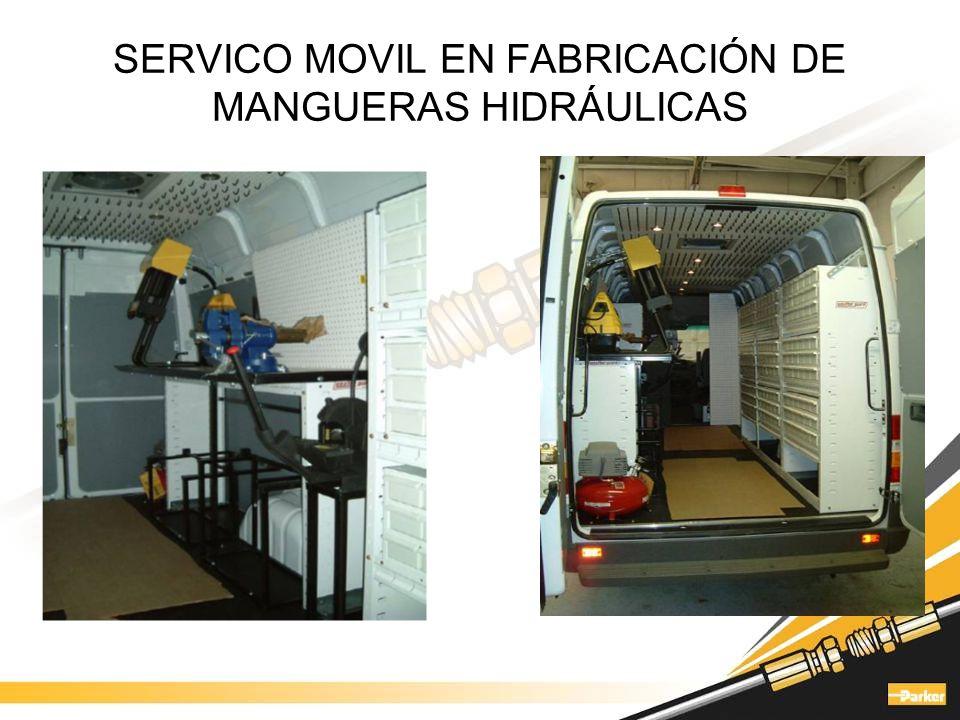 SERVICO MOVIL EN FABRICACIÓN DE MANGUERAS HIDRÁULICAS