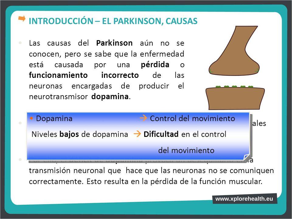 INTRODUCCIÓN – EL PARKINSON, CAUSAS