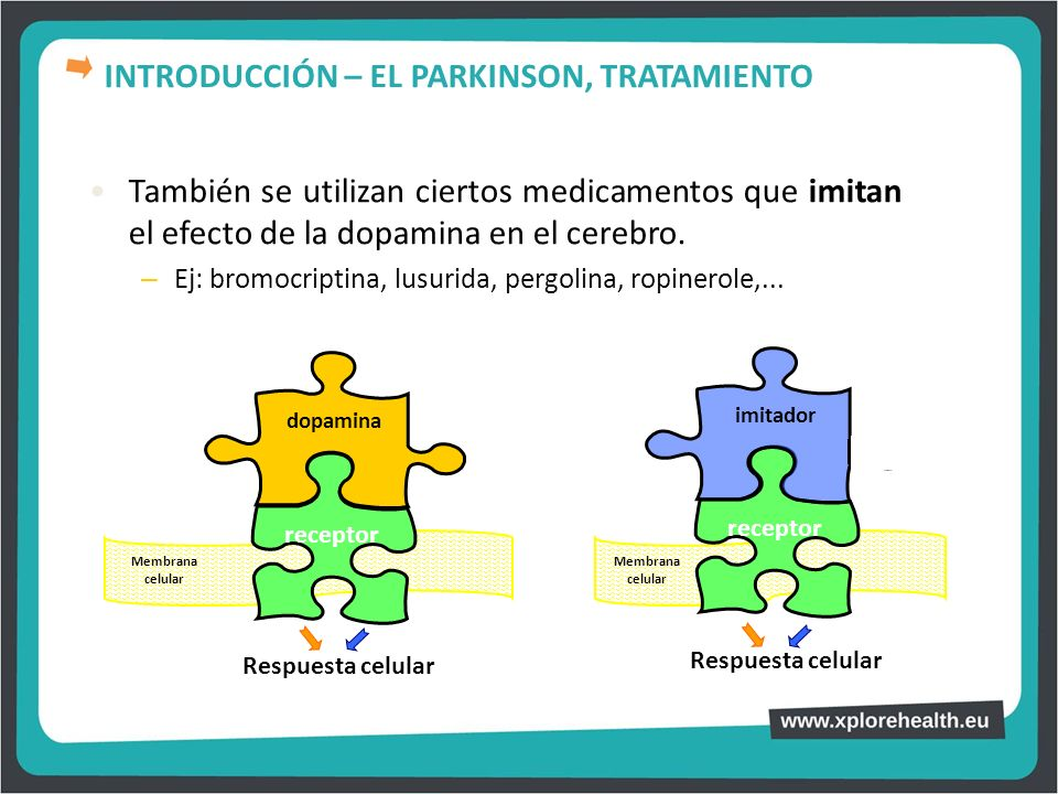 INTRODUCCIÓN – EL PARKINSON, TRATAMIENTO