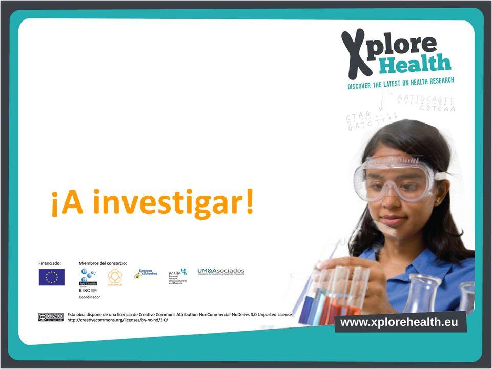 ¡A investigar!