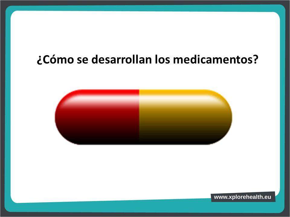 ¿Cómo se desarrollan los medicamentos