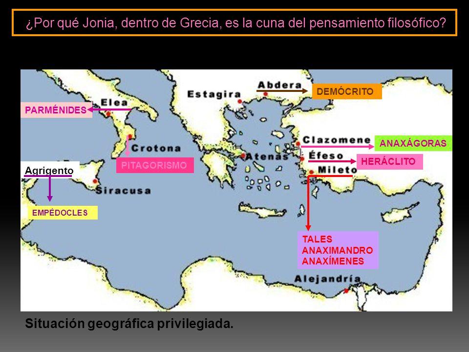 Situación geográfica privilegiada.